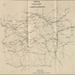 Карта театра войны от Немана до Смоленска