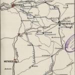 Карта соединения двух наших западных армий под Смоленском