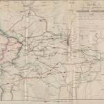 Карта главных движений Российской и Французской армии в войну 1812 года от начала действий до сражения при Смоленске 4 и 5 августа