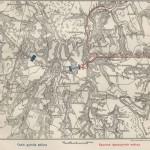 План Краснинского боя 6 ноября