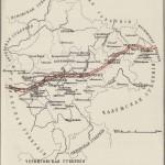Карта Передвижений неприятельских войск по Смоленской губернии