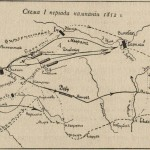 Схема 1-го периода кампании 1812 года