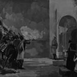 Ко́жин С.Расстрел подполковника П.И. Энгельгарта в октябре 1812г.