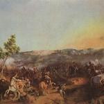 Петер фон Гесс. Сражение при Валутиной горе 7-го августа.