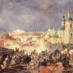 Петер фон Гесс. Сражение при Вязьме 22-го октября