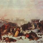 Петер фон Гесс. Сражение при Лосьмине.