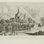 Фабер дю Фор. Артиллерия у Свирской церкви