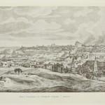 Фабер дю Фор. Вид Смоленска с северной стороны 7 авг.