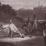 Жазе Ж.-П.М. Военная казнь. Расстрел подполковника П.И. Энгельгардта в октябре 1812г.
